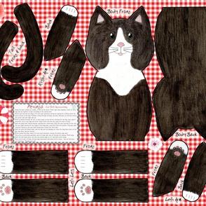 Petunia Cut and Sew Cat Doll