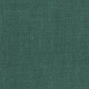 Solid Textured Linen - Antique Green