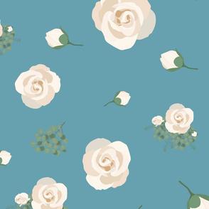 blue_eucalyptus_rose_seaml_stock