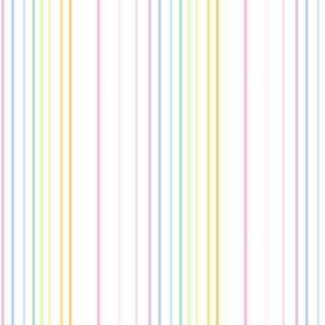 Rainbow Pastel - Thinstriped Fun -  © PinkSodaPop 4ComputerHeaven.com