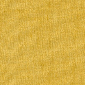Solid Textured Linen -Goldenrod Yellow
