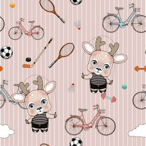 1286 Reindeer Rascals sporty sporty blush