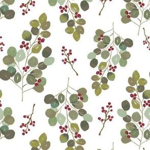 Vintage Christmas Eucaplyptus