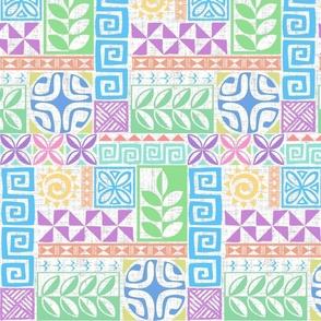 Polynesie Pop Pastel