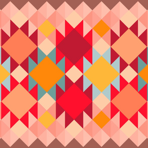 sunny cheater quilt