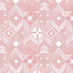 neutral retreat - pink - small