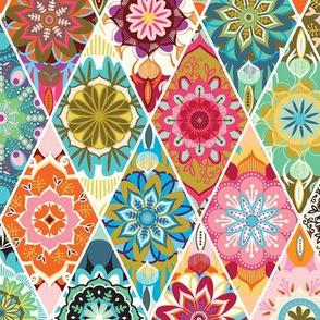 Diamond  quilt
