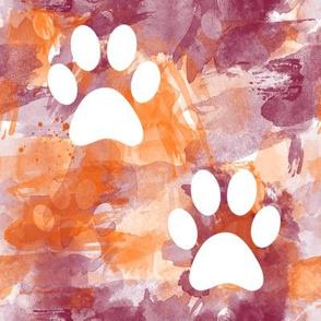 Virginia Tech Paw Print large