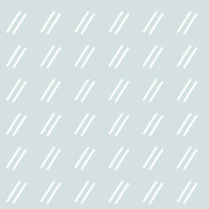Slate Blue Gray Line Drop