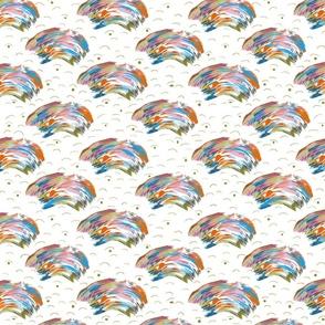 wispy rainbows