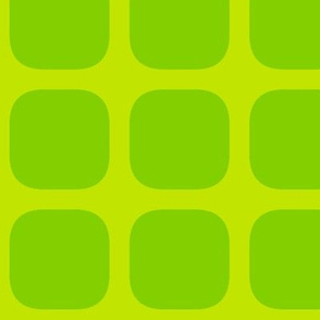 simple squares atomic! coordinate greens