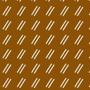Copper Rust Line Drop