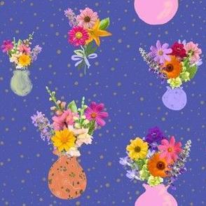 Vases Galore- Blue