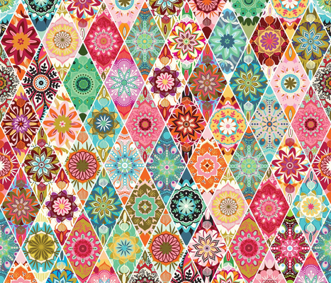 Diamond  quilt   large