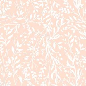 Tangled Soft Peach // large