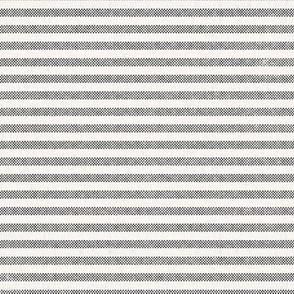 AEGEAN DENIM WHITE TICKING STRIPE ROTATED
