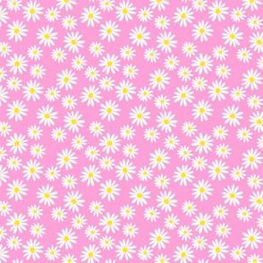Daisy Pink Heather Ditsy