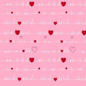 pink zipper open heart bypass