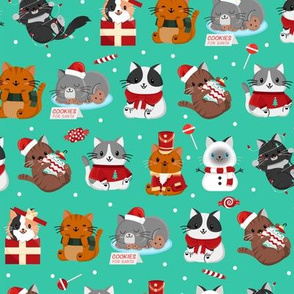 Christmas Kitty Parade