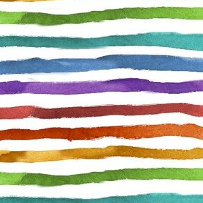 Colorful Watercolor Rainbows