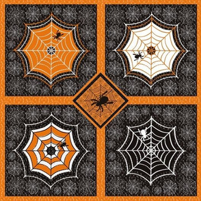 Halloween Embroidery Quilt