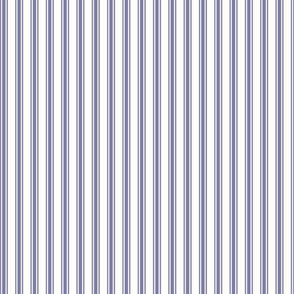 Ticking Stripe in Lavender