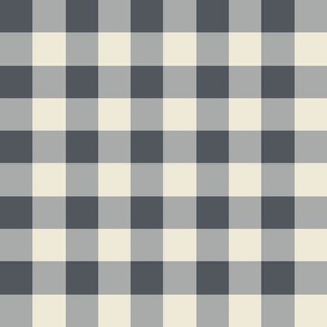Buffalo Plaid in Slate