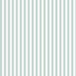 Ticking Stripe in Beach Glass