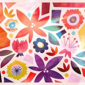 Floral Mod Quilt