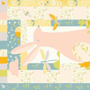 Spring Rabbit Quilt