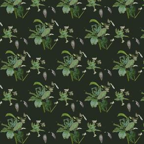 Eaten Leaves (Khaki)