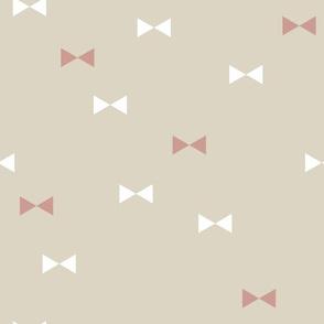 Bows - Geometric Neutral Multicolour