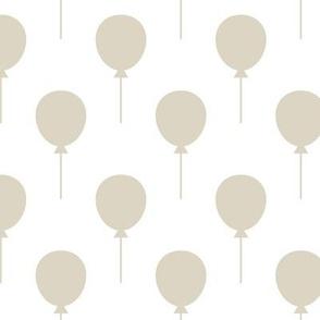 Balloons White / Ecru