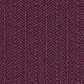 Halloween HerringBONE - purple