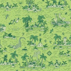 Neverland Toile {Leaf}