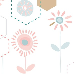Spring Flowers - Pinks