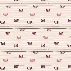 Peek a Boo Pigs © Jennifer Garrett