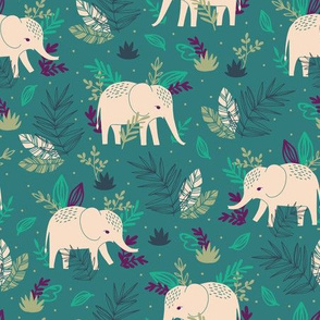 ELEPHANTS IN THE JUNGLE
