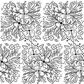 Chalk Florals