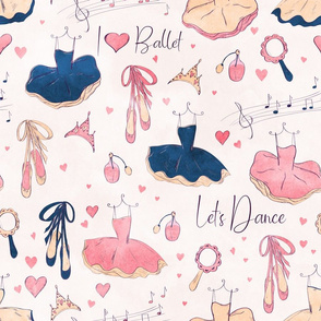 Little Ballerina Dresses and Acsessorizes