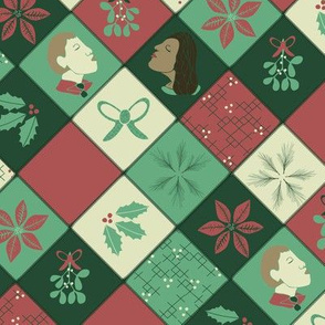 Classic Christmas Patchwork