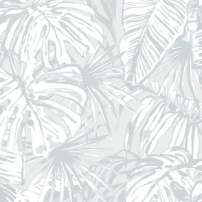 pale green jungle large scale