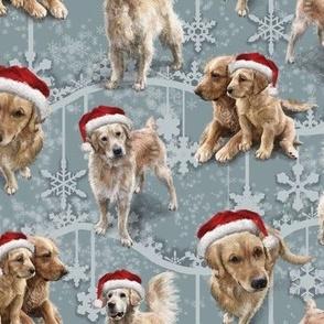 The Christmas Golden Retriever