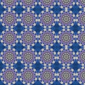 Boho Blue Pinwheels 0223