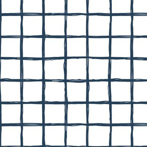 Christmas time abstract geometric checkered stripe trend pattern grid White navy blue