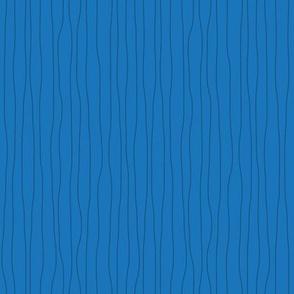Wavy Lines Coordinate, Dark Blue