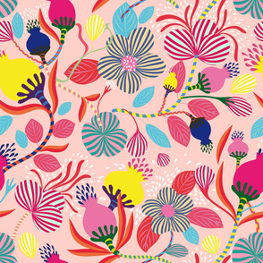 lucious garden pink
