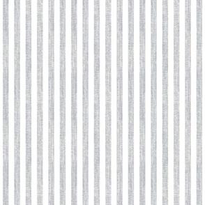 Grey Linen Stripe