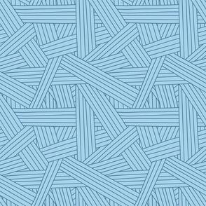 Crossing Lines Blue