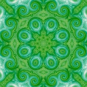 Evergreen Mandala Pattern